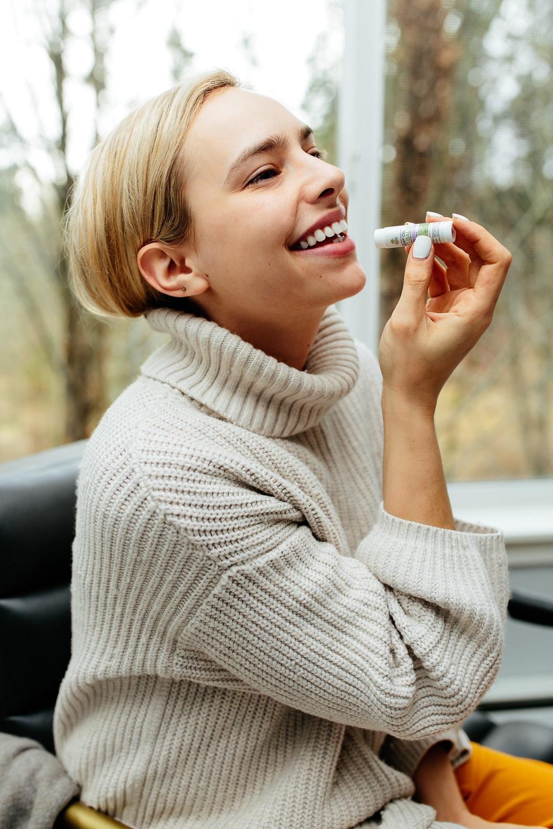 Læbepomade med solfaktor 2